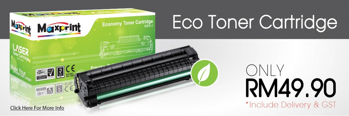 Eco Toner Promotion